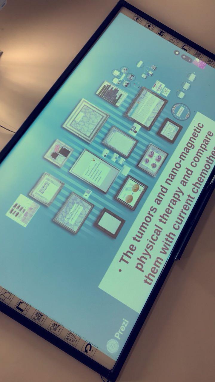 معهد الملك عبدالله لتقنية النانو ينظم فعاليته العلمية الشهرية في التطبيقات النانونيه