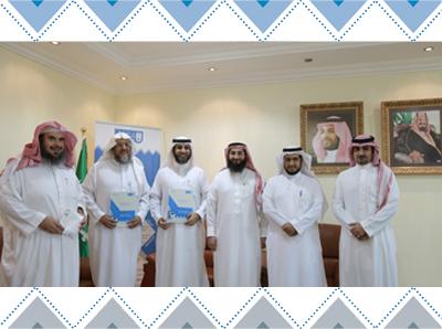 المركز يوقع عقد عمل وتعاون مع  المركز الخيري لتعليم القرآن الكريم وعلومه