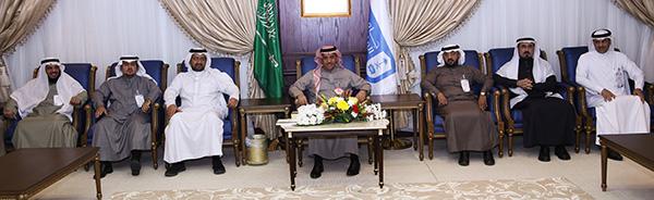 الجامعة تستضيف  اللقاء الثالث لعمداء ومدراء العموم لشؤون هيئة التدريس والموظفين بالجامعات السعودية