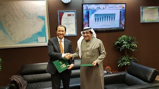 تعزيز تعاون كلية الهندسة مع شركة دوسان الكورية للصناعات الثقيلة