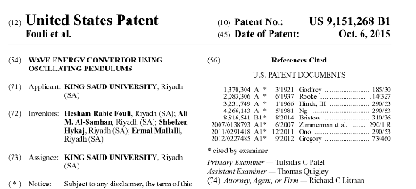 The Industrial Engineering Department has been granted a patent