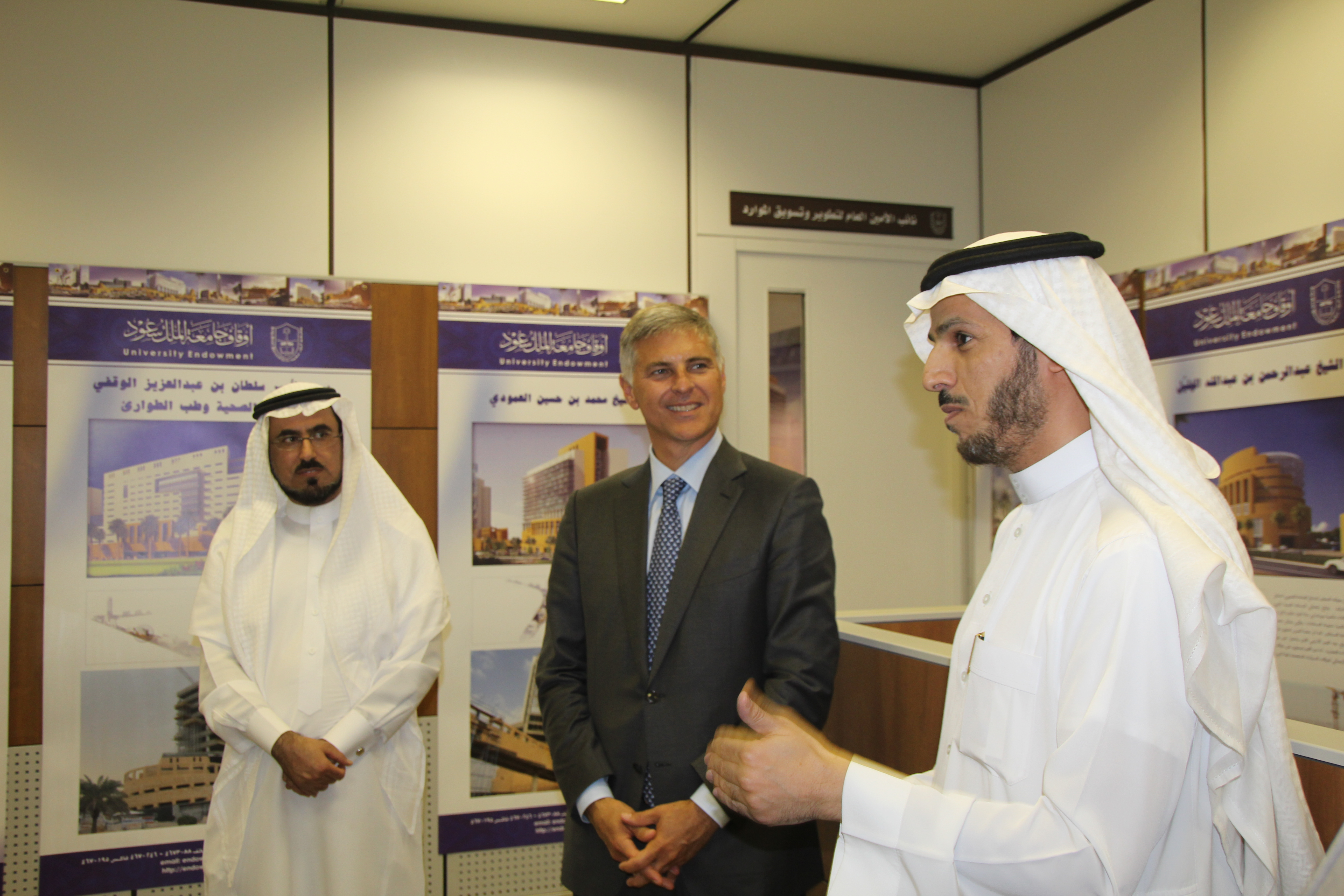 وكيل جامعة الملك سعود يستقبل رئيس شركة «هيلتون العالمية»