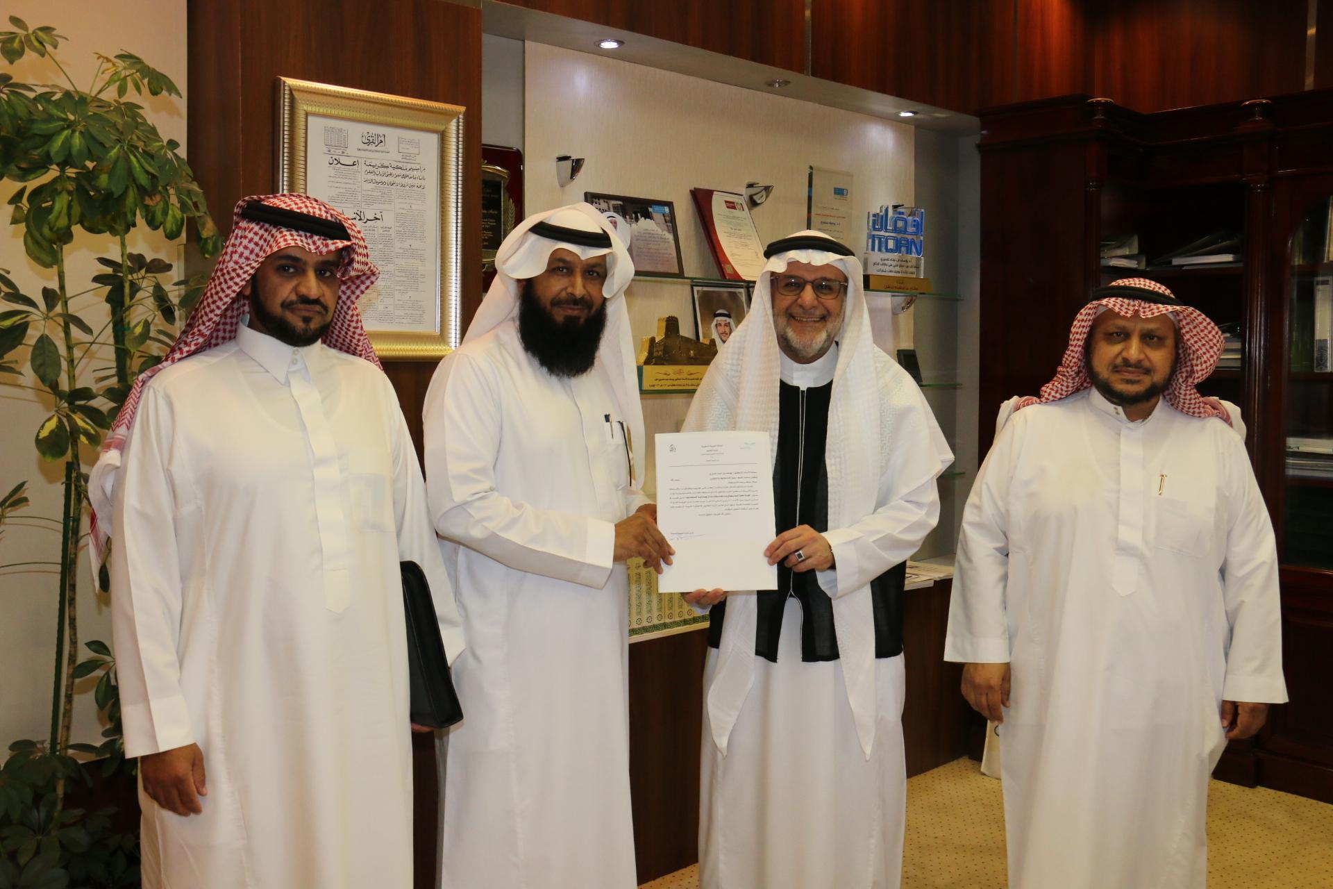 التخطيط والتطوير تستقبل وفد إدارة الجودة الشاملة بتعليم الرياض