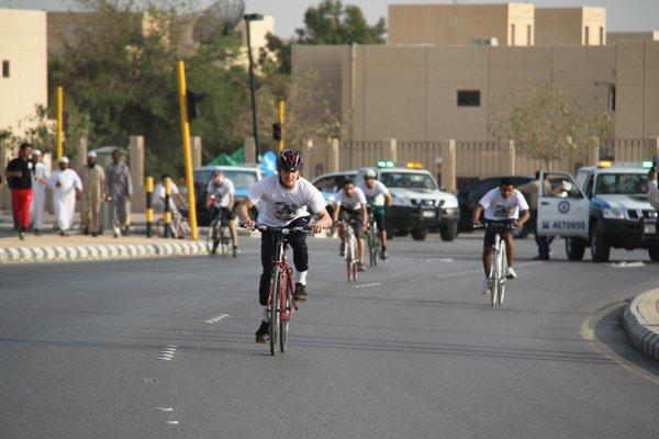 أنشطة الإسكان تنظم سباق الدراجات الهوائية