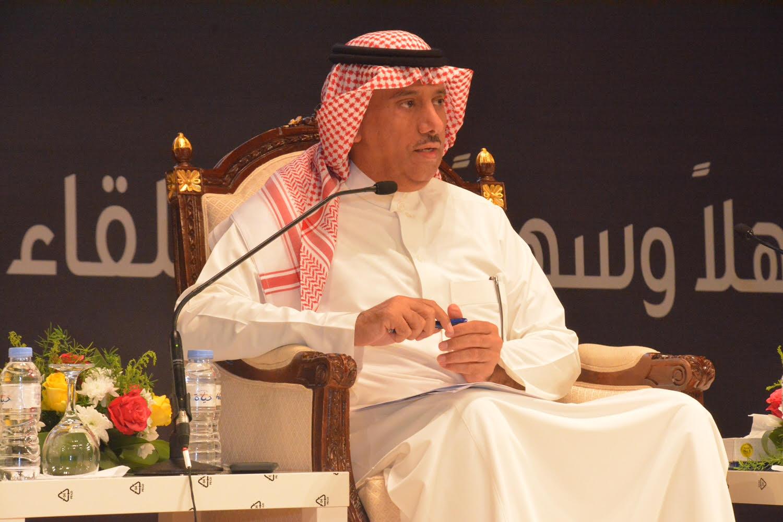 اللقاء السنوي المفتوح لمعالي مدير جامعة الملك سعود مع طلاب وطالبات الجامعة للعام 1437/1438