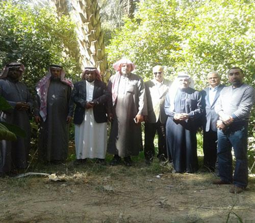 """66- كلية علوم الأغذية  والزراعة  تشارك في مهرجان """" حمضيات حريق الرياض """" الثاني."""