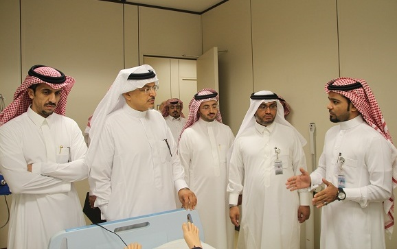 Vice Rector for Business Development Assesses Health Facilities at KSU