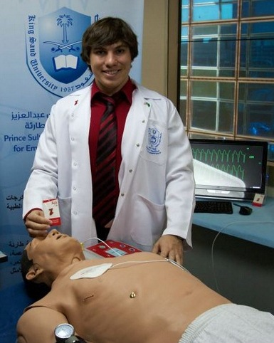 EMS instructor William Leggio brings expertise, experience and enthusiasm to KSU