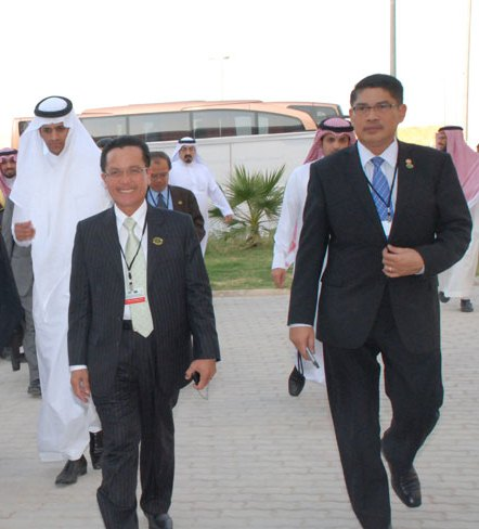 Islamic Ministers of Higher Education meet in Riyadh, visit KSU Campus