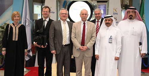 Dr. Jürgen Mlynek of Helmholtz Association of German Research Centers visits KSU