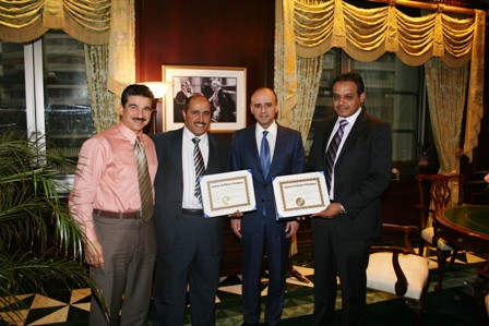 Dr. Ahmed Al-Kahtani receives prestigious award from University at Buffalo SUNY