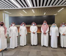 Civil Engineering delegation visit to the Saudi...