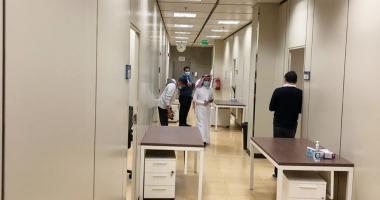 طلاب وطالبات كلية التمريض ينهون أداء اختبارات منتصف العام الجامعي