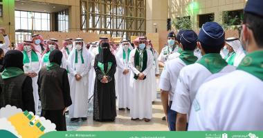 تدشين أول فريق طالبات جوالة بجامعة الملك سعود