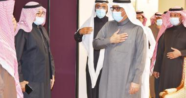 أ.د. النمي يرافق معالي الرئيس في زيارته لكلية علوم الحاسب والمعلومات