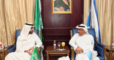 معالي مدير الجامعة يستقبل سفير دولة الإمارات العربية المتحدة