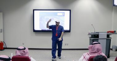 كلية التمريض تقيم دورة تدريبية على الإسعافات الأولية
