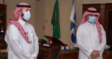 وكيل جامعة الملك سعود يدشن ثلاثة برامج الكترونية بالسنة الأولى المشتركة