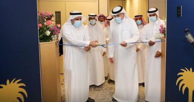سعادة وكيل الجامعة للدراسات العليا والبحث العلمي الأستاذ الدكتور خالد الحميزي يدشن المقر الجديد لوحدة البرامج المشتركة للدراسات العليا