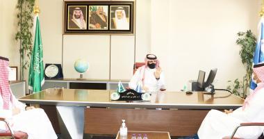عميد كلية علوم الرياضة يستقبل وفد الاتحاد السعودي للأولمبياد الخاص