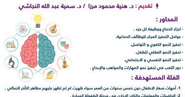 محاضرة استراتيجيات التحفيز الدماغي لاستثارة مواهب الأطفال
