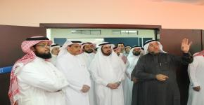 معالي مدير الجامعة يزور كلية الأمير سلطان للخدمات الطبية الطارئة