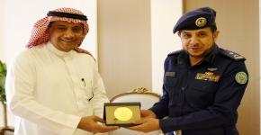 مدير الجامعة يستقبل وفدا من القوات الجوية السعودية