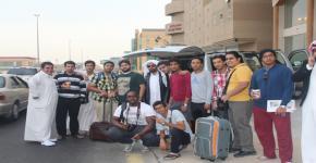 الانشطة الطلابية بكلية التمريض تنظم رحلة للمنطقة الشرقية