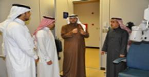 ــ وفد من جامعة الملك خالد يزور  كلية العلوم الطبية التطبيقية بجامعة الملك سعود ــ