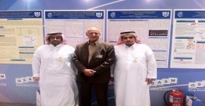 كلية العلوم الطبية التطبيقية بجامعة الملك سعود تفوز بالجائزتين الذهبية والفضية في الملتقى العلمي السنوي الاول لطلاب وطالبات الدراسات العليا