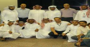 حفل توديع الزميل / ماجد القحطاني الموظف بإدارة البنية التحتية بعمادة التعاملات الإلكترونية والاتصالات