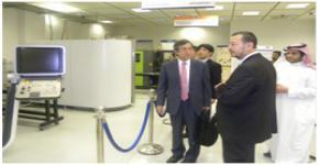 وفد من جامعة WASEDA   اليابانية يزور معهد التصنيع المتقدم