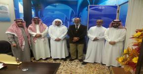 عميد البحث العلمي في ضيافة «مجلة الدراسات الإسلامية» بكلية التربية