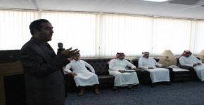 محاضرة لمعهد الأمير سلمان لريادة الأعمال في كلية المجتمع