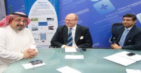 RTIC receives a delegation from ANGLE Technology