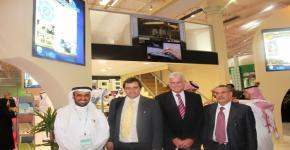 KSU faculty meet with British and US officials at Education Exhibition