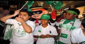 MojTam3E Club and Autism Families Association spread goodwill on National Day