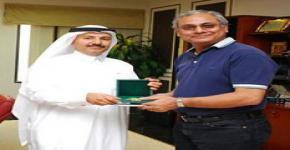 McMaster University Statistician Balakrishnan visits King Saud University