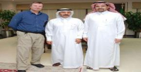 Dr. Peer Bork, bioinformatics expert, lectures at King Saud University