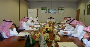 مجلس إدارة المركز الوطني لأبحاث الشباب بجامعة الملك سعود يعقد اجتماعه الرابع