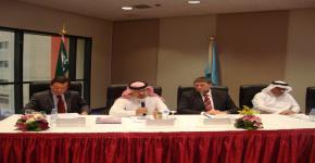 جامعة الملك سعود تعقد اجتماعاً بحثياً مع كبرى الجامعات في المملكة المتحدة