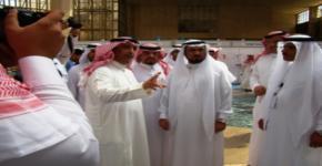 """المركز يشارك في معرض """"ندوة الصحافة الجامعية في المملكة العربية السعودية"""""""