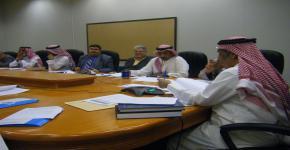 اجتماع مجلس قسم الدراسات الاجتماعية