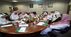 مجلس إدارة المركز الوطني لأبحاث الشباب بجامعة الملك سعود يعقد اجتماعه الخامس