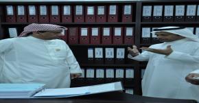 معالي مدير الجامعة يزور كلية الدراسات التطبيقية وخدمة المجتمع