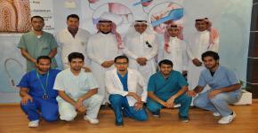 كلية العلوم الطبية التطبيقية بجامعة الملك سعود تستقبل وفدا من جامعة الملك خالد
