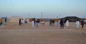 """إدارة الأنشطة الاجتماعية والثقافية بعمادة شؤون الطلاب تقيم """"المخيم الربيعي"""""""