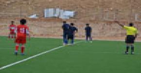 الجامعة تصعد لدور ثمن النهائي من بطولة كرة القدم للجامعات ,,,