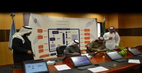 الدكتور العامري يوقع اتفاقية تأسيس حاضنة للاستثمار الصناعي مع شركة الرؤى المتطورة
