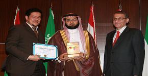 Prestigious Pan Arab Web Awards Prize Presented to KSU Electronic Portal